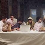 Videó: Ilyen szellemesen még nem ábrázolták az utolsó vacsorát