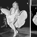 Marilyn Monroe ikonikus fotója