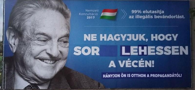"""Szervezkedés indult Orbánék """"gusztustalan plakátfergetege"""" ellen"""