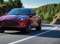 Zéró villany: biturbó V8 az Aston Martin első divatterepjárójában