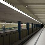 Így fognak kinézni a 3-as metró felújított állomásai - látványtervek