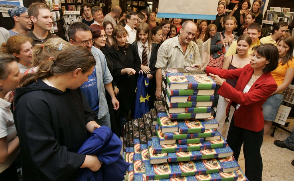 Harry Potter megjelenés - könyv világnapja nagyítás
