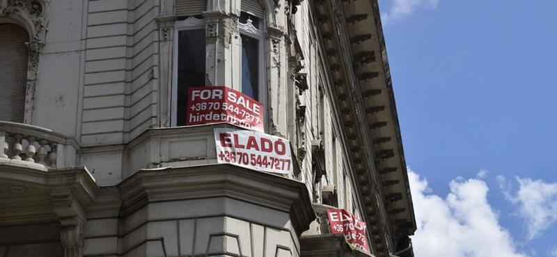 Óriási visszaesést mértek a budapesti használtlakás-piacon