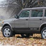 Orosz toldalék: hazánkban az első hosszított új Lada Nivák