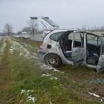 Záróvonalon előzött, balesetet okozott a tatabányai autós – majd elhajtott a helyszínről