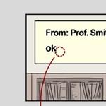 Tanári e-mailek: mit jelent a pont, a három pont és a kérdőjel?
