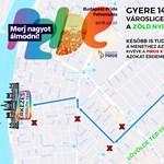 Ellentüntők között, de jó hangulatban, zavartalanul vonultak végig Budapesten a Pride-menet résztvevőo