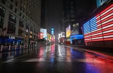 New York államban egy nap alatt kilencezerrel nőtt a diagnosztizált fertőzöttek száma