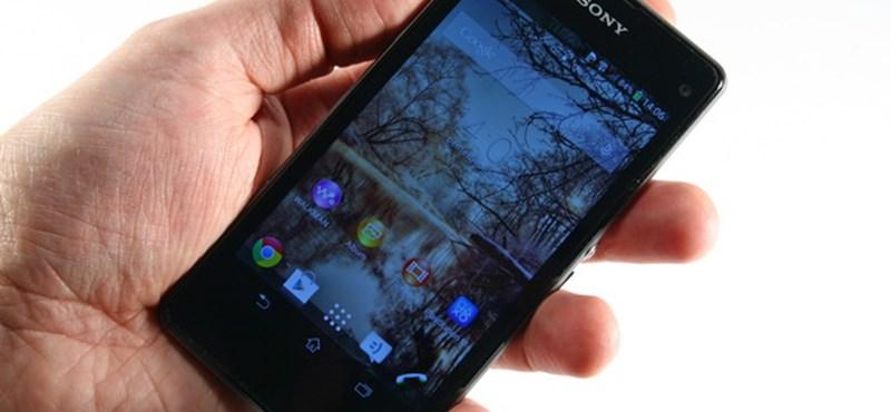 Csúcsmobil, ami végre kisebb: Sony Xperia Z1 Compact