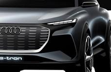 Újabb elektromos divatterepjáró, itt az Audi Q4 e-tron