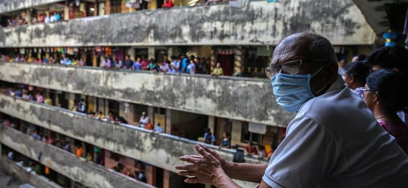 Hiába a kijárási tilalom, India retteghet a koronavírus-járványtól