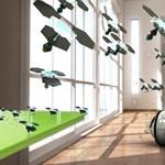 Repülő minirobotok takaríthatják majd a lakásunkat