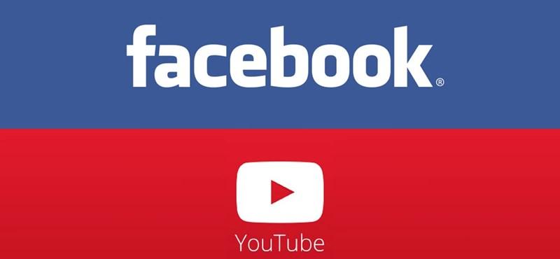Másodpercről másodpercre követheti a Facebook és a YouTube versenyét