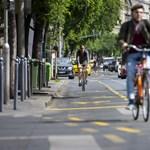 A budapestiek 56 százaléka támogatja az új kerékpársávokat
