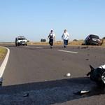 Meghalt egy motoros Győr határában