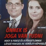 Fideszesekre cserélte Sorost és Junckert új szórólapjain a XV. kerületi ellenzék