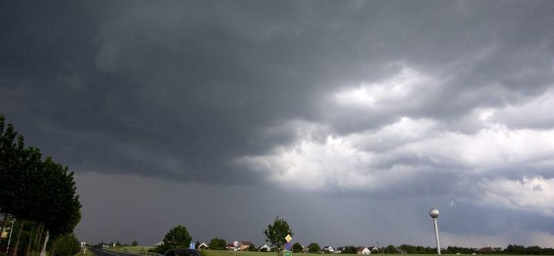 Letarolta a vihar a fél országot - fotó, videó