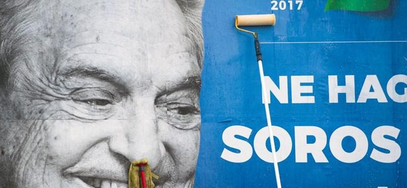 NNI: Nem készül erőszakra Soros György