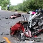 Egy lengyel édesapa és gyermeke haltak szörnyet Szerencsnél