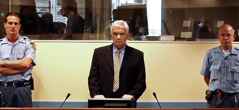 Koronavírusban halt meg a háborús bűnökért elítélt volt boszniai szerb házelnök