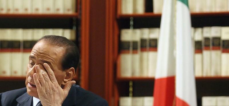Berlusconi fél a letartóztatástól?