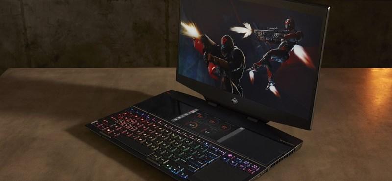 Csinált egy fura laptopot a HP: oda is tett egy kijelzőt, ahol a billentyűzet szokott lenni