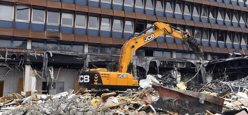 Újabb ikonikus XIII. kerületi irodaházat bontanak le – fotók