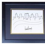 Trump grafikusként is tud pénzt csinálni, dollárezrekért kínálják a rajzát