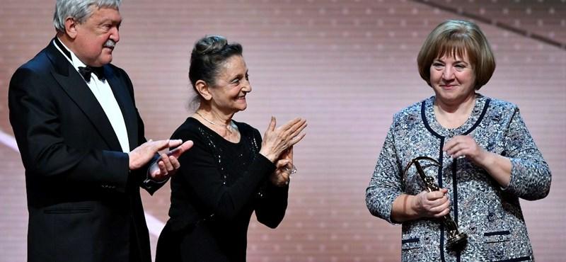 Így vette át a Prima Primissima közönségdíját L. Ritók Nóra
