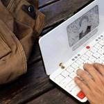 Ez a modern írógép nincs 1 kiló, mégis órákkal tovább bírja, mint egy laptop