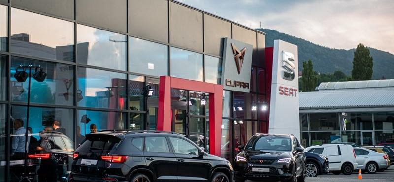 Saját kereskedést kapott itthon a spanyol sportautó-márka, a Cupra