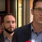 Cirkuszi indulóval hekkelték meg Karácsony sajtótájékoztatóját – videó