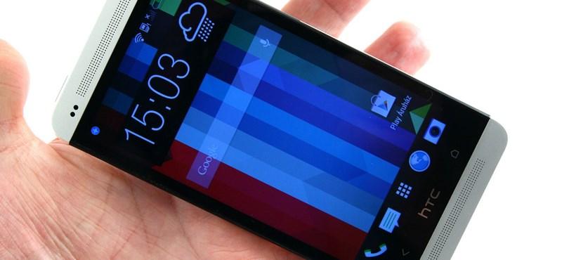 HTC One teszt: az alumíniummobil varázsa