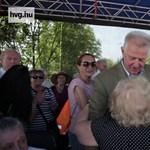Így ropták a nyugdíjasok Schmitt Pállal Óbudán – videó