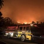 Már a harmadik legnagyobb a tomboló kaliforniai erdőtűz