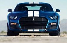 Az új Mustang Shelby GT500 a legerősebb utcai autó, amit a Ford valaha épített