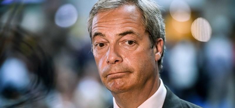 Nigel Farage lemond pártja vezetéséről
