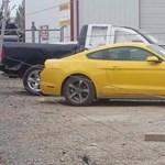 Máris megvan az első összetört új Ford Mustang – fotó