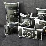 Analóg fényképezőgépek, párna formátumban