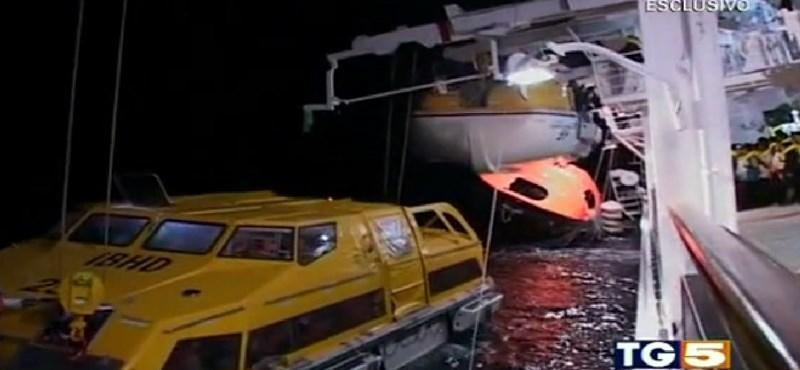 Nyolc újabb holttestet találtak az elsüllyedt olasz luxushajón