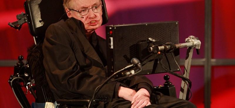 """Hawking: """"A legtöbb időmet azzal töltöm, hogy a nőkről gondolkodom"""""""