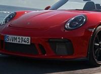 Itt a Porsche 911 Speedster: stílus, szívómotor és 500+ lóerő