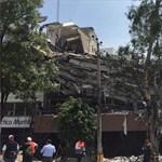 Több százan haltak meg a mexikói földrengésben