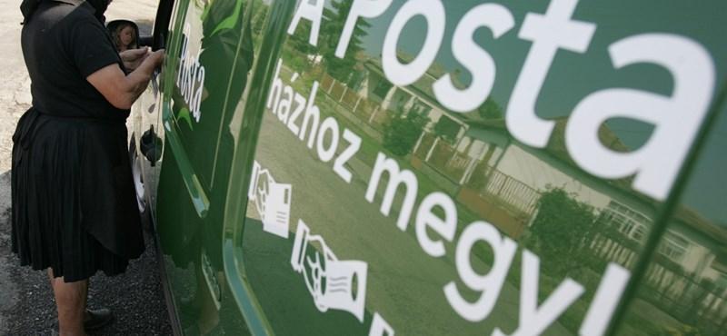 Rejtélyes versenytársat kapott a Magyar Posta