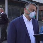 Katonás rendet vitt magával Orbán a kórházakba