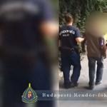 Kukával törte be egy Váci utcai órabolt kirakatát, de elfogták a rendőrök – videó