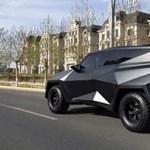 A kínaiak megtervezték a világ legmenőbb szabadidő-autóját