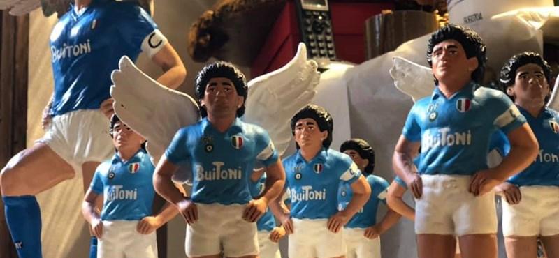 Mit keres Maradona egy betlehemben?