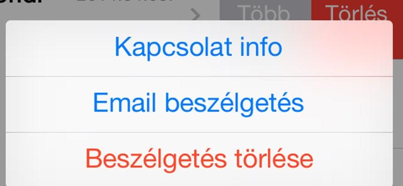 Nem mindenki tudja: így e-mailezheti el WhatsApp-beszélgetéseit