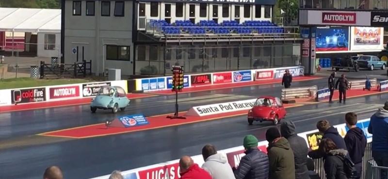 Joggal nevezhető mindez a világ leglassabb gyorsulási versenyének – videó